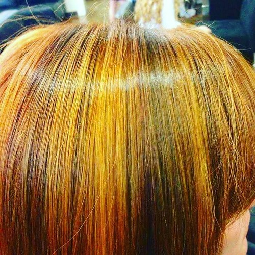 A little #throwback #Copper #Colorstory we know you miss this!!😘 @kumill hair: @hairbywhit901