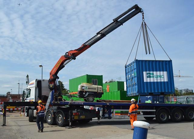 Lorry (5) @ KGV Lock 14-08-17