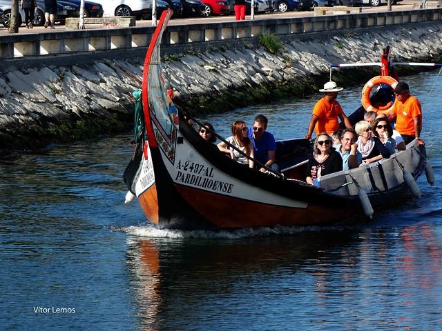 Aveiro. Barco moliceiro