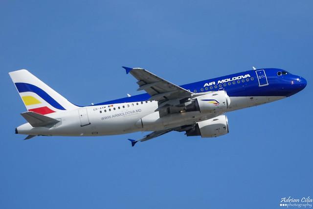 Air Moldova --- Airbus A319 --- ER-AXM