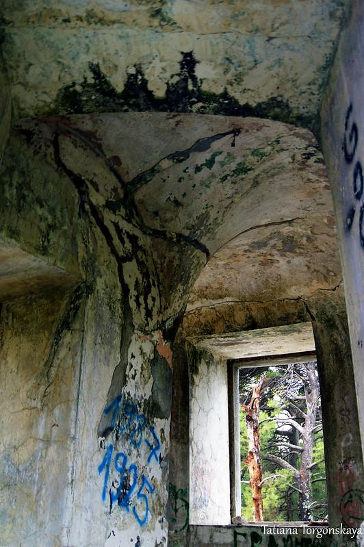 Окно в одном из помещений