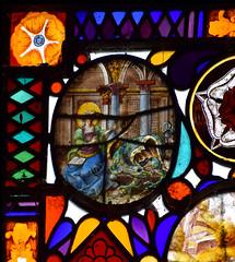 St Martha tames a dragon