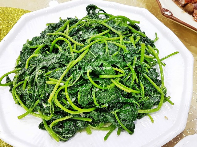 Stir-Fried Sweet Potato Leaves