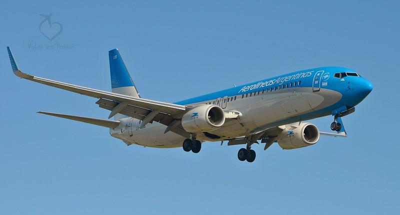 Boeing 737-800 / LV-FUB / Aerolíneas Argentinas