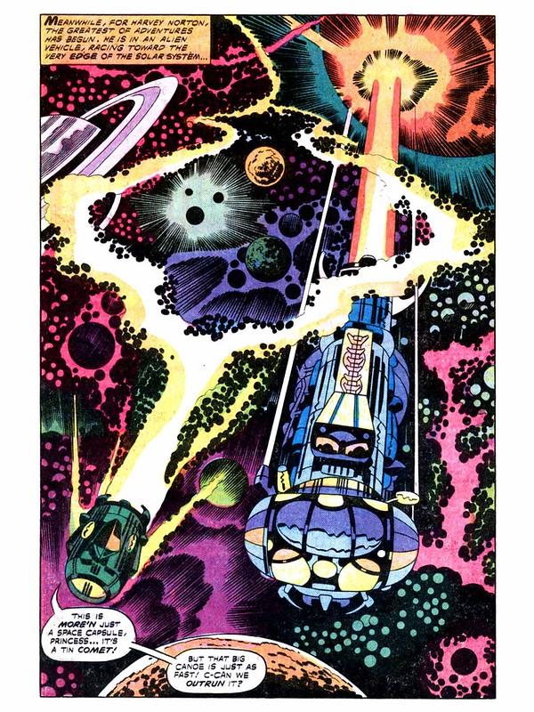 Kirby 2001 the series - cosmic trip