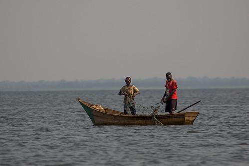 murchison murchisonfallsnationalpark uganda nwoya northernregion africa lakealbert fishing