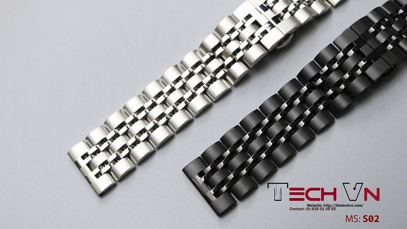 Dây thép 22mm - đồng hồ thông minh MS-S02 02