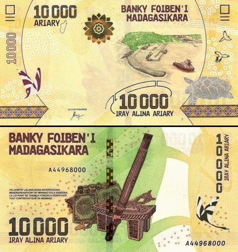10 000 Ariary Madagaskar 2017, P103
