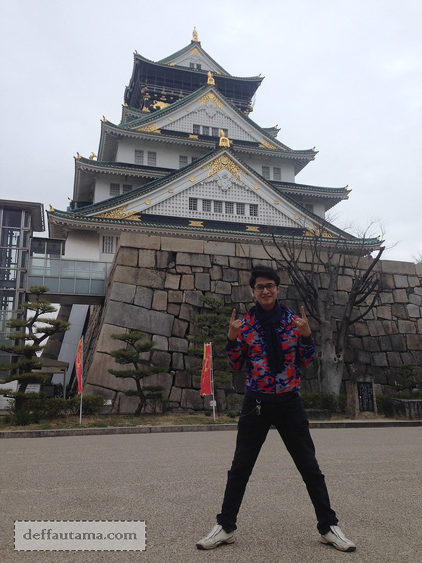 2 Hari Keliling Osaka - Osaka Castle