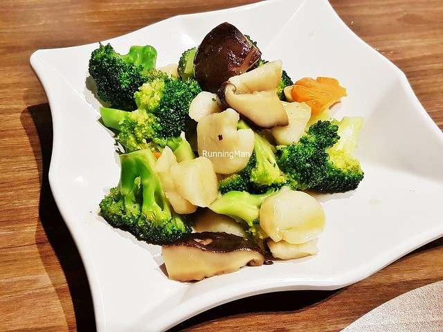 Broccoli With Scallop