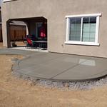 Concrete Patio Extension In Vacaville