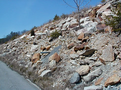 Slope stability measures (Clinch Mountain, Tennessee, USA) 1