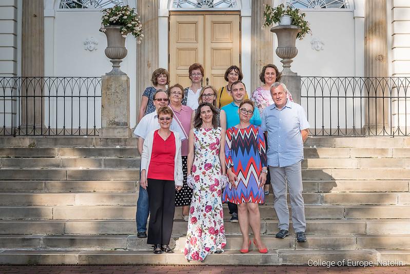 Alumni reunion of the Ramon Llull Promotion (1994-1995). 29 July 2017