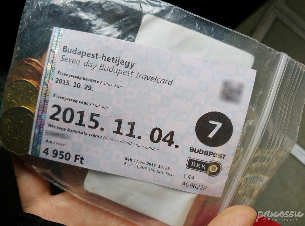 Budapest ticket 7 days