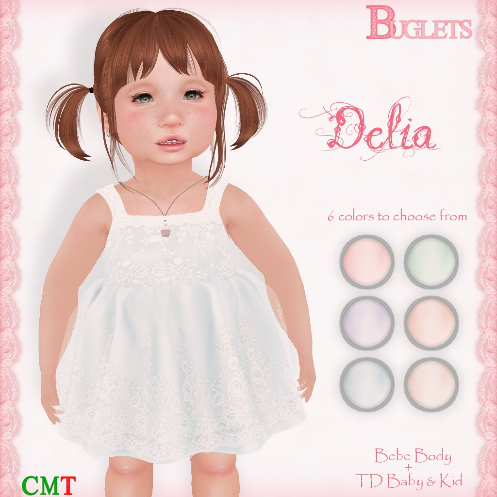 Delia Dress AD - SecondLifeHub.com