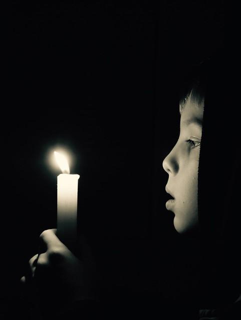 In The Candlelight, Panasonic DMC-G7, LUMIX G VARIO 14-42/F3.5-5.6 II