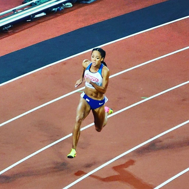 Katarina Johnson-Thompson on her, Sony DSC-RX10M3, Sony 24-600mm F2.4-4.0