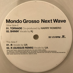 MONDO GROSSO:NEXT WAVE(LABEL SIDE-F)