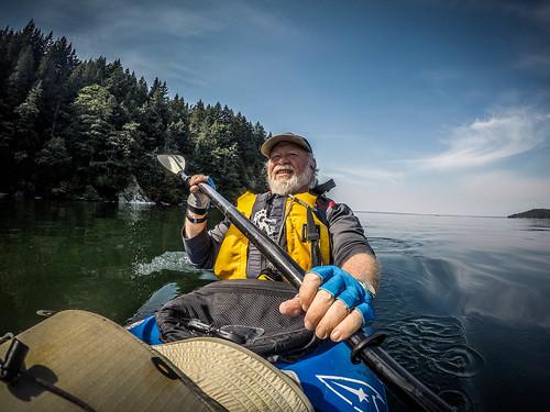 Kayaking Bellingham Bay-9