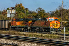 BNSF 5654 | GE AC4400CW | NS Memphis District