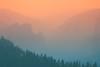 Wildfire Haze. Yosemite National Park, USA by Marji Lang Photography