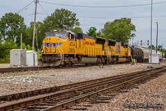 UP 4716 | EMD SD70M | BNSF Thayer South Subdivision