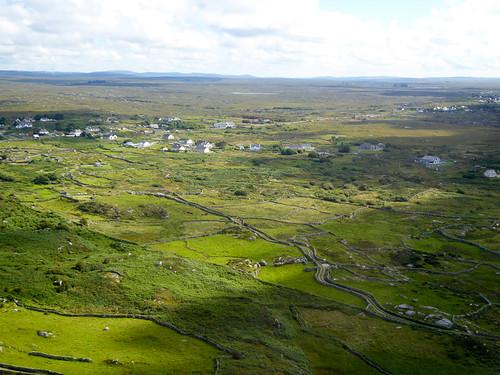 Departing Connemara Airport
