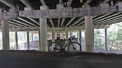 2017 Bike 180: Day 117 - Under American Legion Bridge
