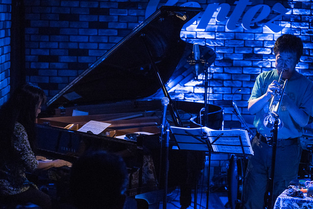 Satoko Fujii Quartet live at Cortez, Mito (Japan), 19 Aug 2017 -7S-00204
