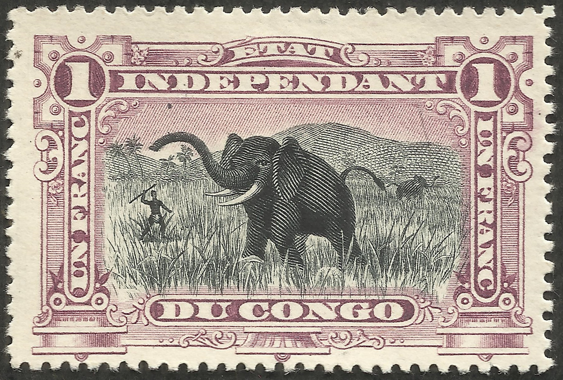 Congo Free State 24 1894 A Stamp A Day