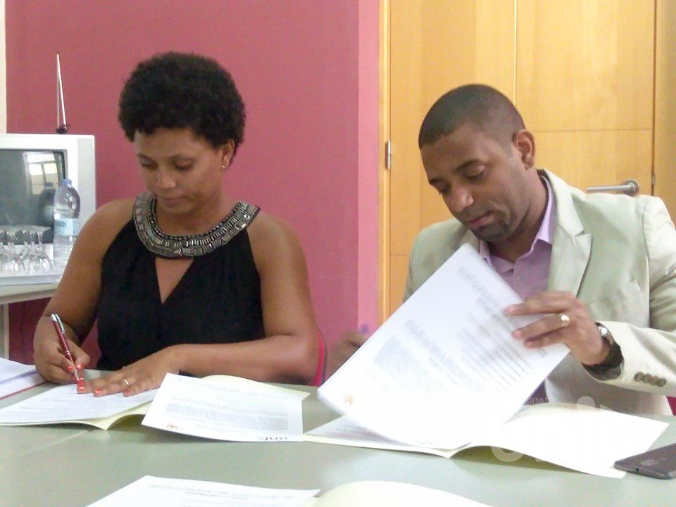 Uni-CV celebra acordo de cooperação académica com Universidade Federal do Espírito Santo do Brasil