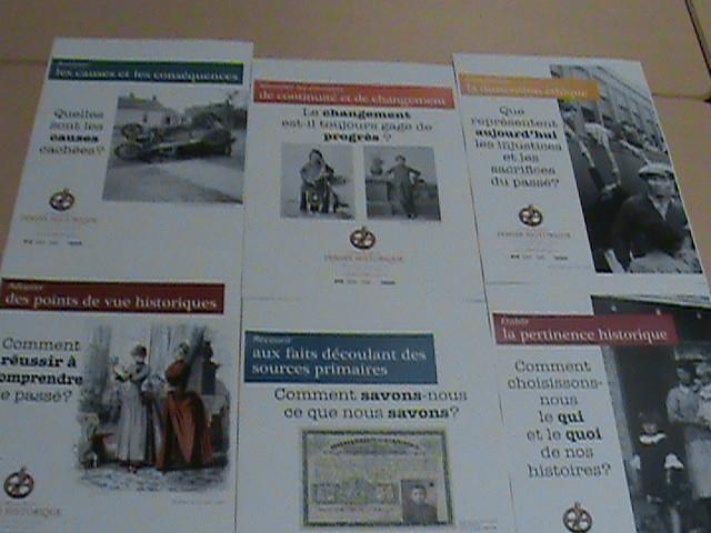 Le projet de la pensée historique [posters].