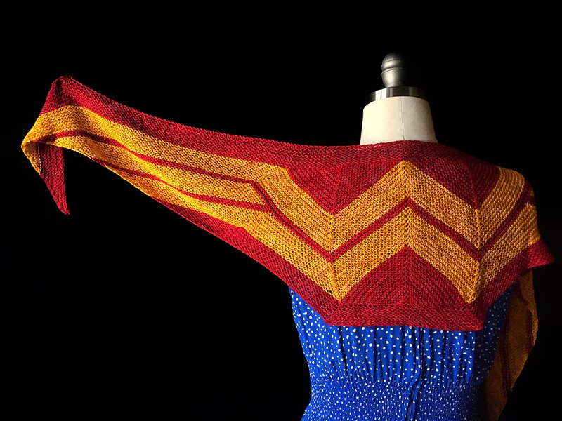 Mini Wonder Woman Wrap