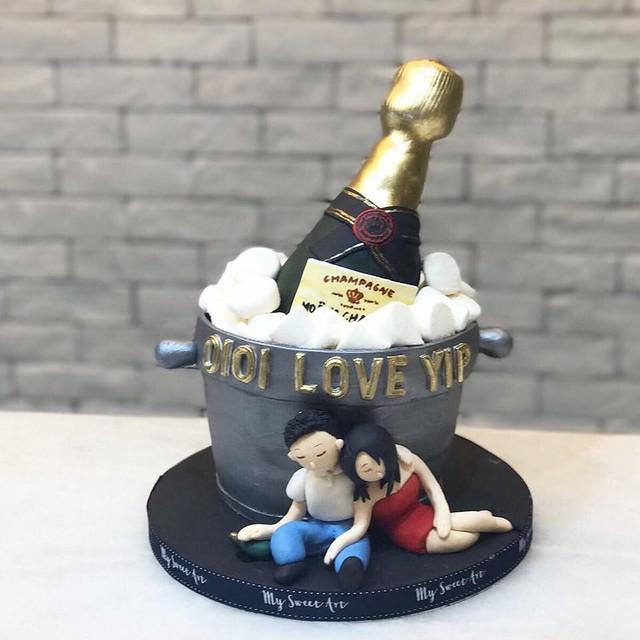 Cake by My Sweet Art hk
