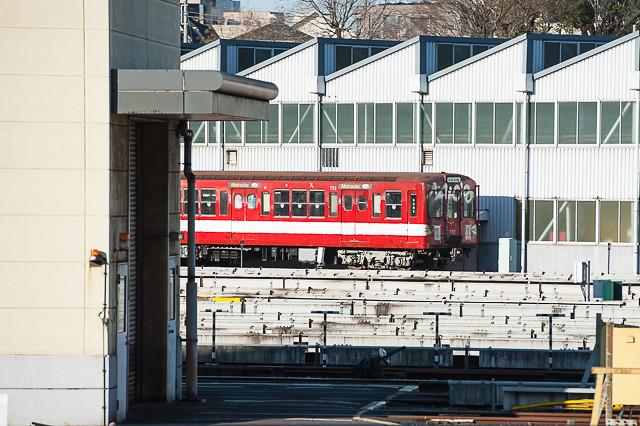 営団地下鉄丸ノ内線500形 752号車