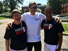 Testa Supports Segarra and Sullivan in Peekskill