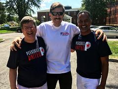 Testa Supports Segarra and Sullivan in Peekskill