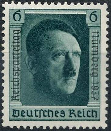 Známka Nemecká ríša 1937 Adolf Hitler