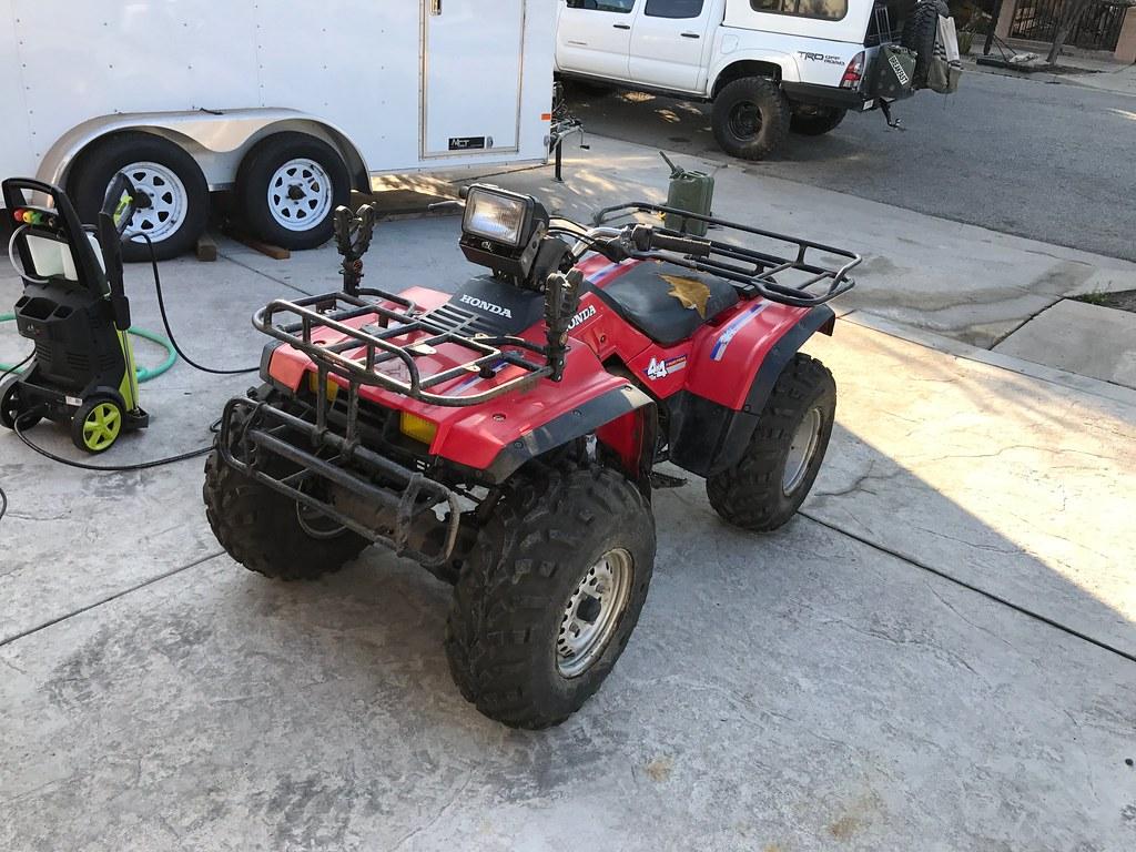 1986 Honda TRX350 Restoration Build *Need some help