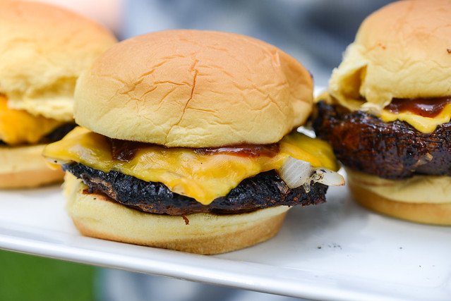 Barbecue Portobello Burgers