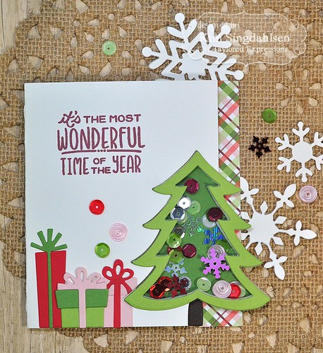 TE Christmas Tree Shaker