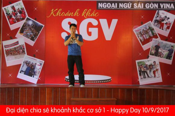 happy day 10/9/2017 - Ngoại ngu SGV