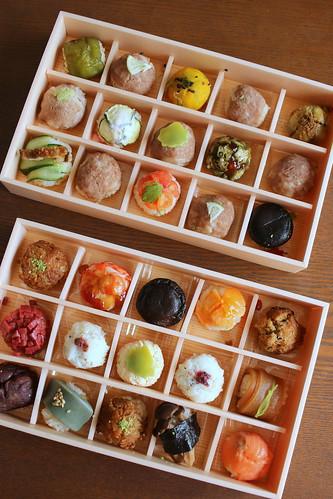 花梓侘のつまみ寿司 お取り寄せしました。