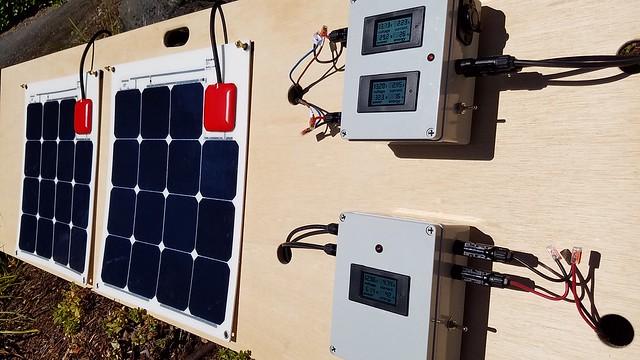 Sat, 08/19/2017 - 12:00 - SOLBIAN ALLinONE Solar Panel testing setup
