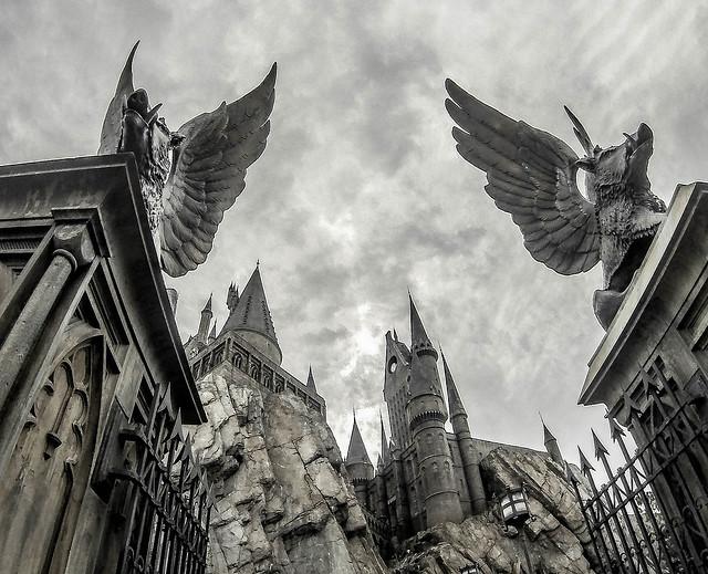 Hogwarts Castle at Islands Of Adventure Universal Orlando