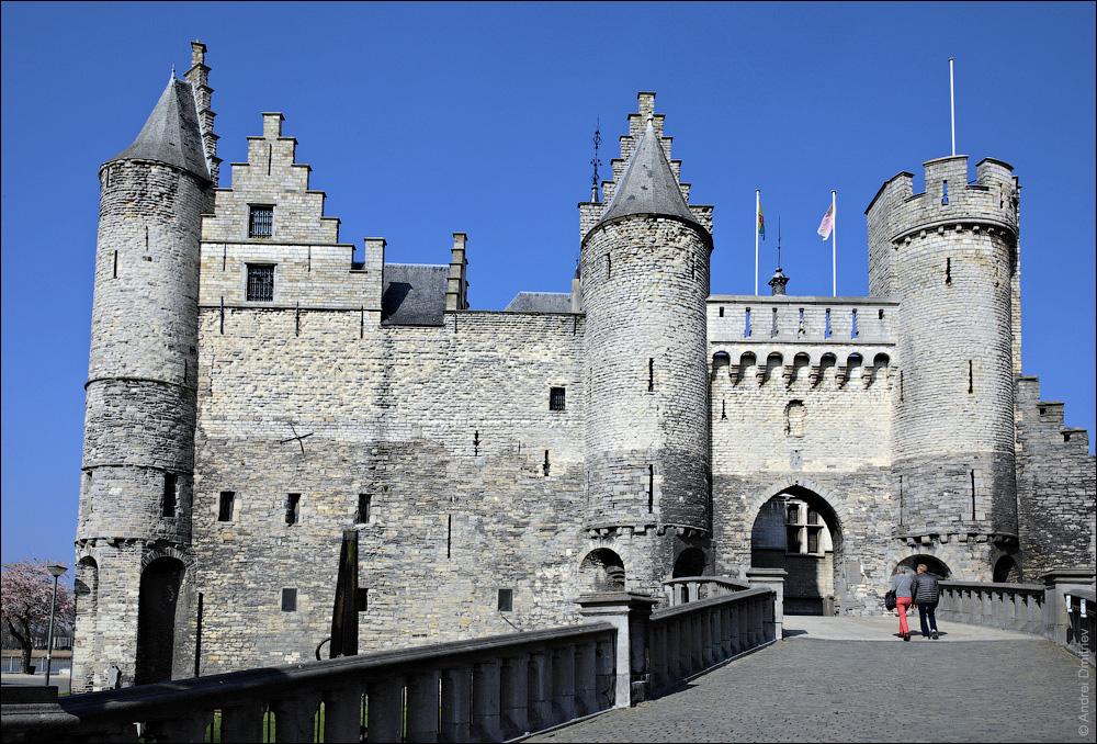 Замок Стен, Антверпен, Бельгия
