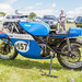 Lydden Hill August 2016 Paddock Triumph Trident Rob North No 157 001