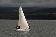 Yacht Lauranna on Loch Fyne