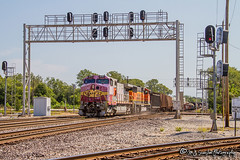 ATSF 643 | GE C44-9W | BNSF Thayer South Subdivision