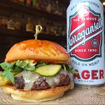 Name a better duo, I'll wait... every Thursday is $10 for a @aquidneck_farms Rogue Burger and a @gansettbeer Tallboy! - - - - #foodie #yum #rhody #farmtotable #rifoodfights #ediblerhody #foodlove #foodlover #foodblog #foodblogger #foodphotography #instafo